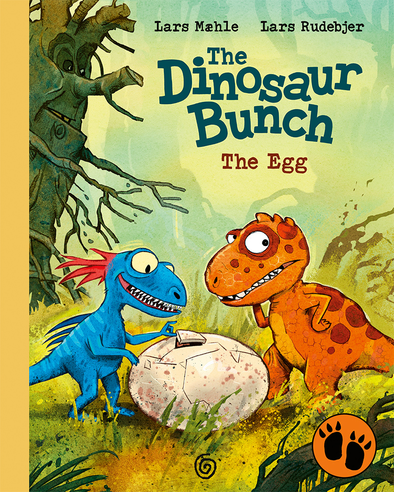 "Cover of ""The Dinosaur Bunch 1: The Egg"""