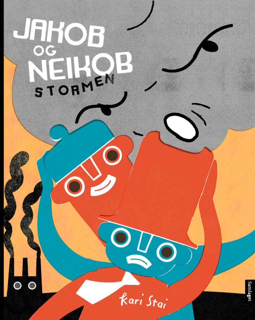 "Cover of ""Yesper and Noper – the Storm"""