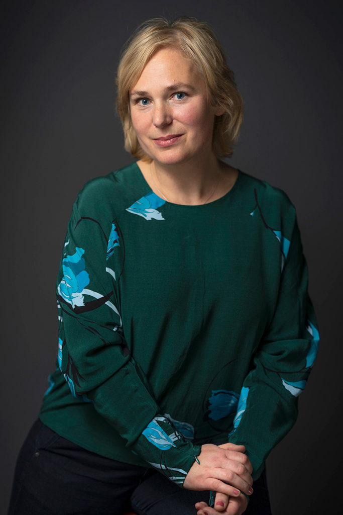 Portrait of Kari Stai (photo: Kari Svanberg)