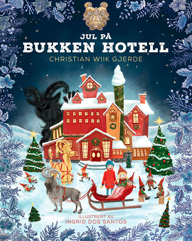 "Cover of ""Christmas at the Advent Hotel"""