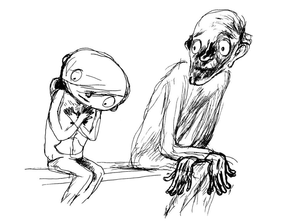 "Illustration from ""So-So Happy"""