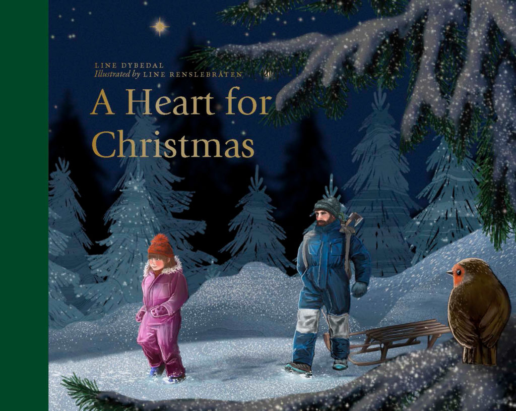 """Cover of """"A Heart for Christmas"""""""