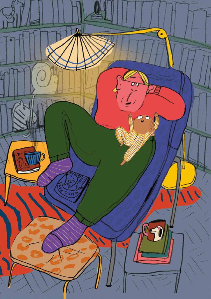"Illustration from ""Bedtime""."
